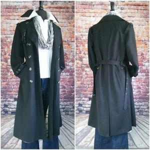Fully Lined Burberry Style Vintage Trench Coat